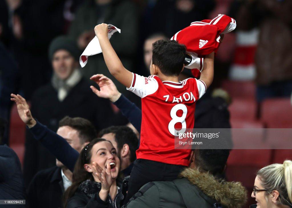 Arsenal FC v Vitoria Guimaraes: Group F - UEFA Europa League : ニュース写真