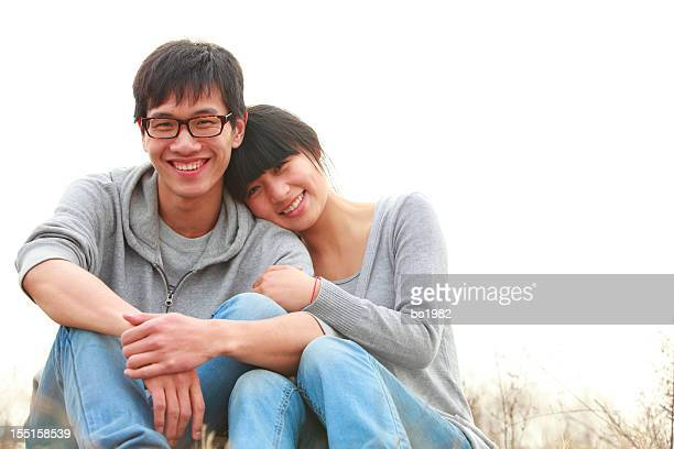 young asian couple together