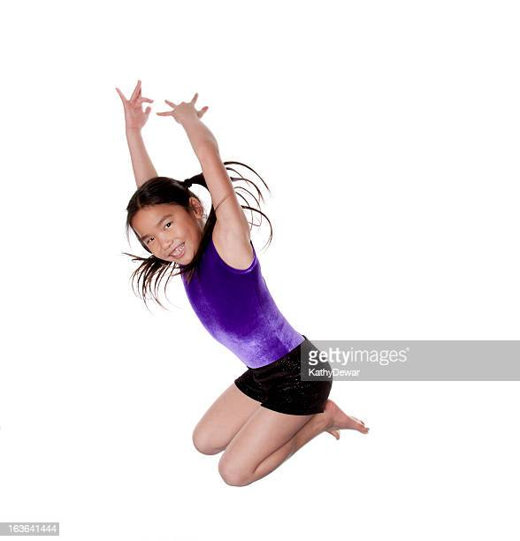 Young Asian Gymnast