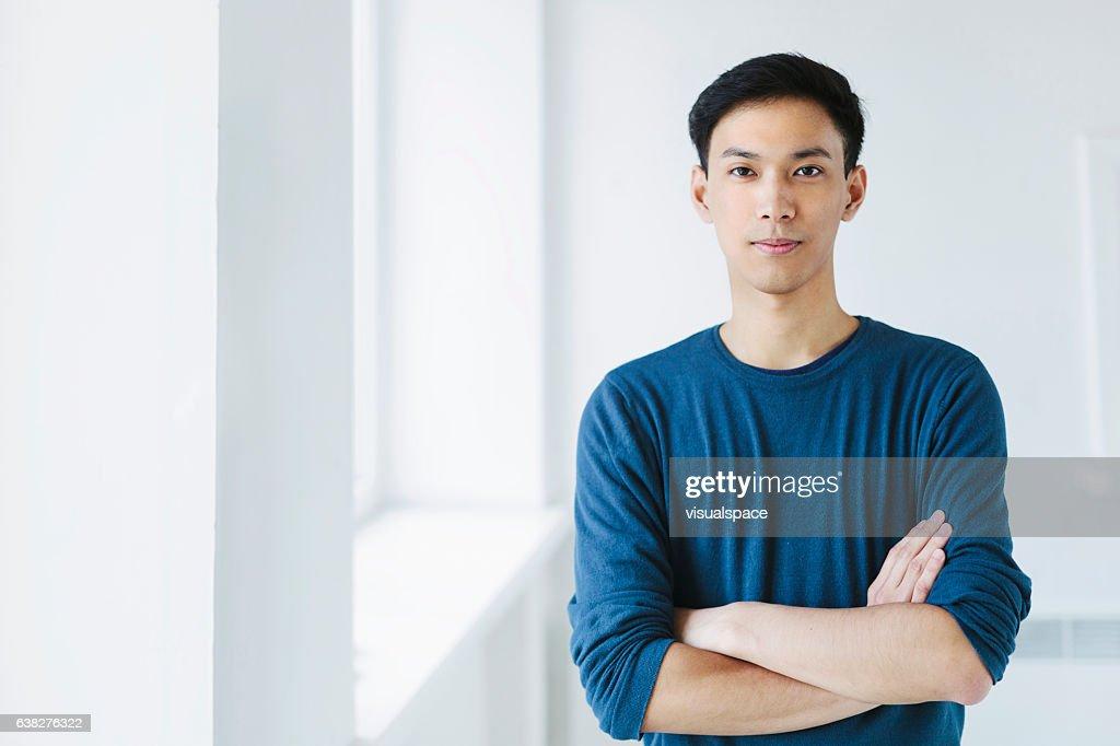 Young Asian Man : Stock Photo