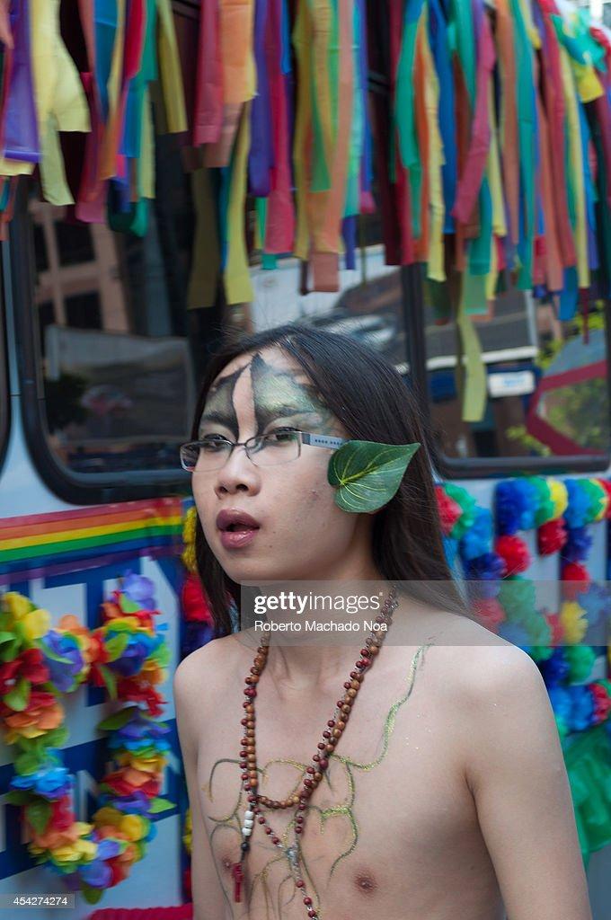 Young asian lesbian