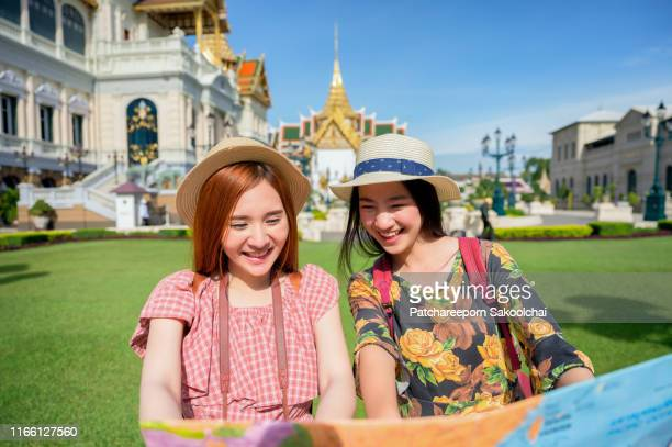 young asian travel in Bangkok, Thailand