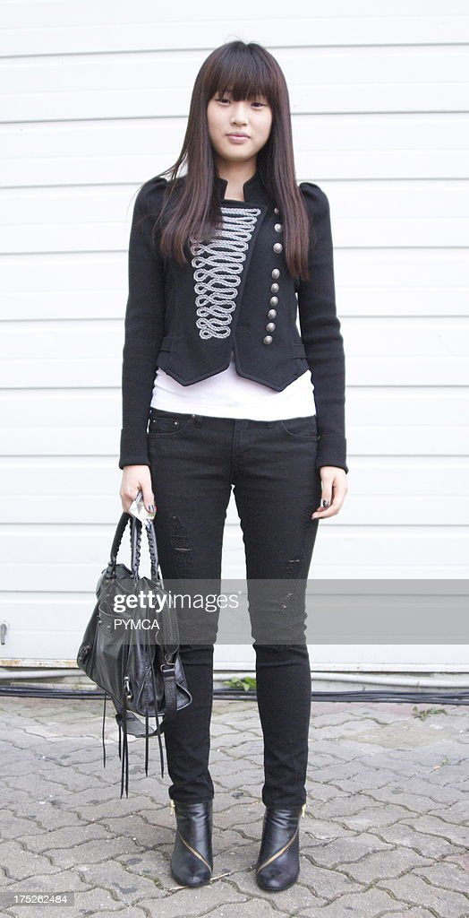 Young Asian Woman Attending Seoul Fashion Week S News Photo Getty