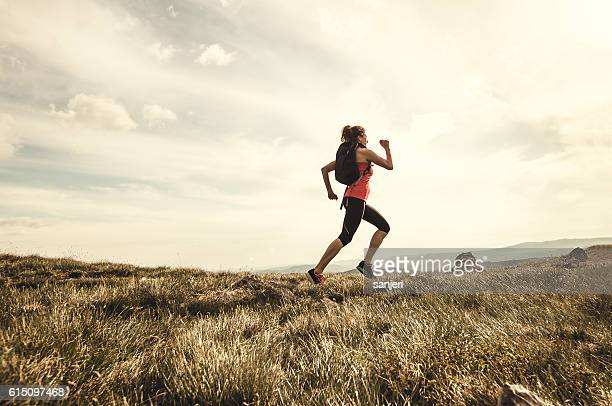 Young Athlete Spending Her Time in the Open