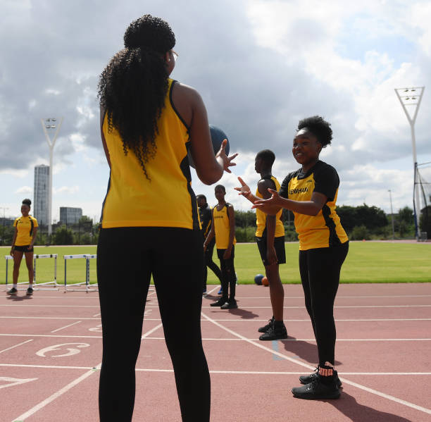 GBR: Next Generation of London Young Athletes Inspired by Team GB Performances in Tokyo