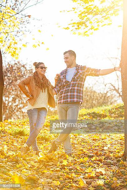 young attractive caucasian couple hugging and loving in city park - drazen stock pictures, royalty-free photos & images