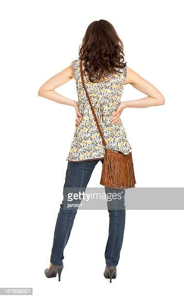 young attractive woman - beautiful female bottoms stock pictures, royalty-free photos & images