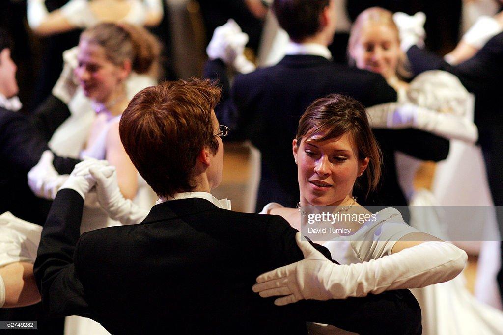 Vienna's Youth Learn To Waltz : News Photo