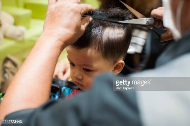 75 Cute Baby Boy Haircuts Photos And Premium High Res Pictures Getty Images