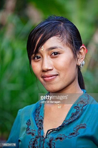 Young Balinese woman, Ubud , Bali