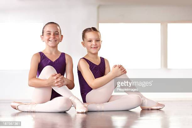 Young ballerinas in the making