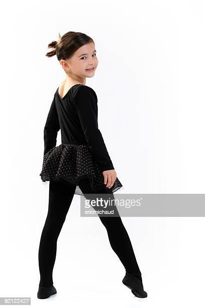 Young Ballet dancer looking at camera
