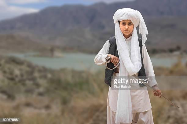 Young baloch warrior