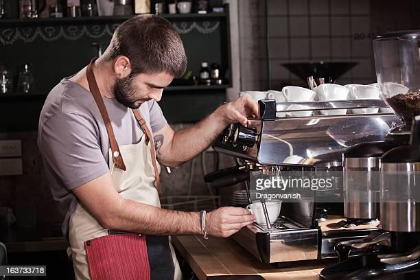 Jeune barista