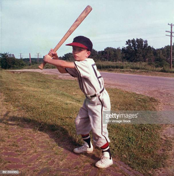 Young baseball player, ca. 1968.