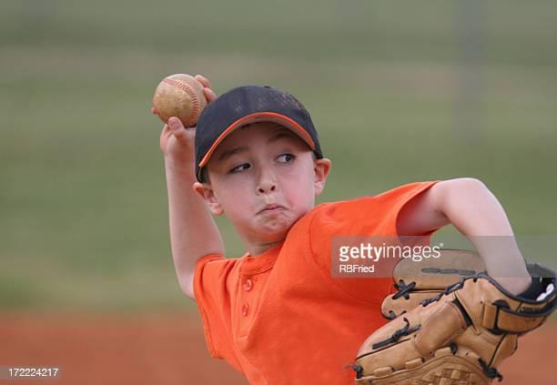 Young Baseball Player