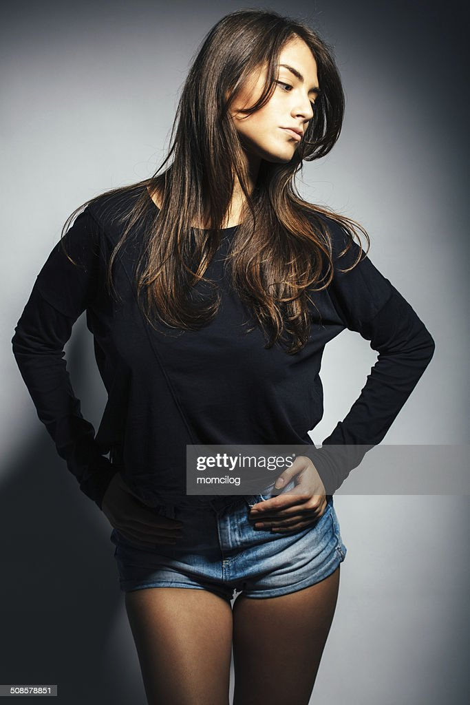 Young beautiful female : Stock Photo