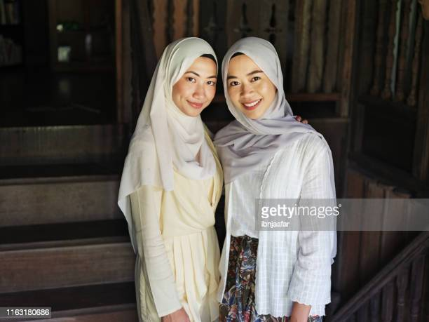 young beautiful girl embracing - ibnjaafar stock photos and pictures