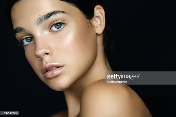 young beautiful woman - perfection stock pictures, royalty-free photos & images