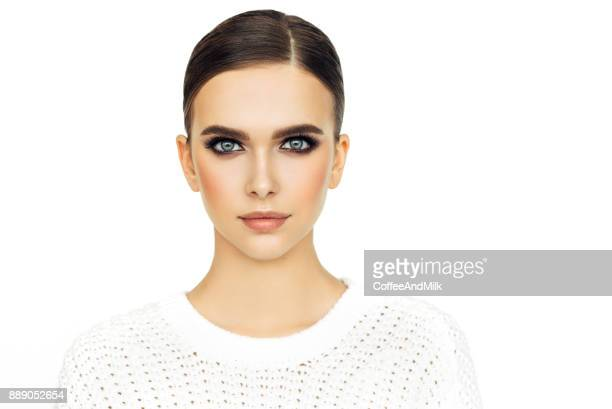 young beautiful woman - one young woman only stock pictures, royalty-free photos & images