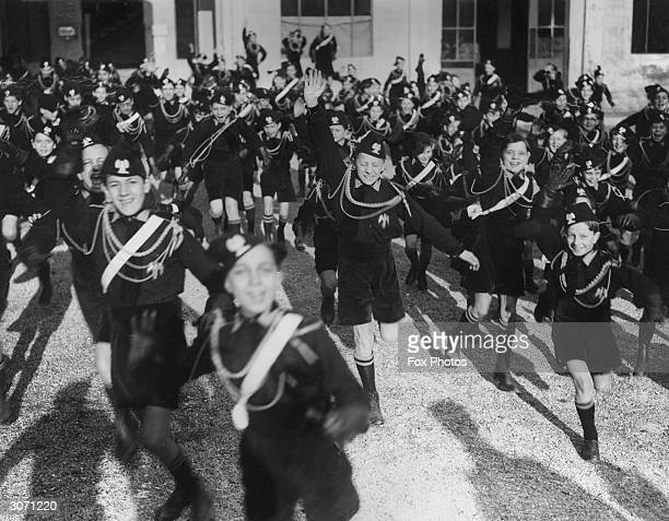 Young Blackshirts are to provide a display of Italian Fascist youth for the British Prime Minister, Neville Chamberlain, and Foreign Secretary, Lord...