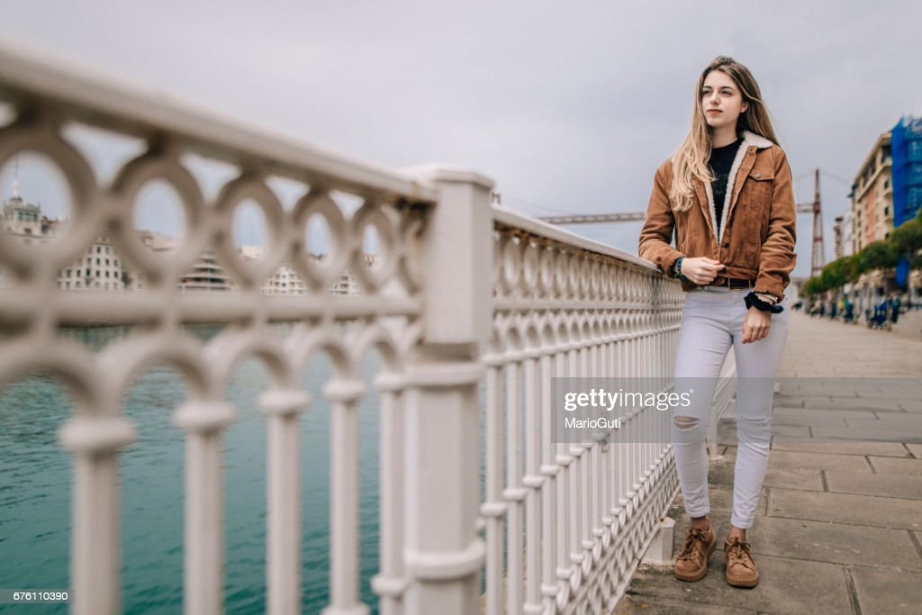 Young blonde woman : Stock Photo
