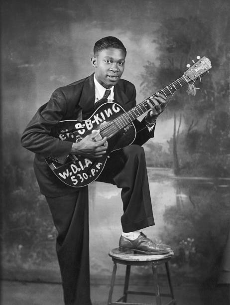 B. B. King Early Portrait
