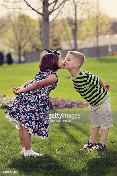 Little Boy And Girl Kiss Stock Photos And Pictures  Getty -2796