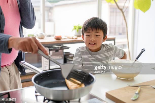 少年と彼と、自分の料理教室