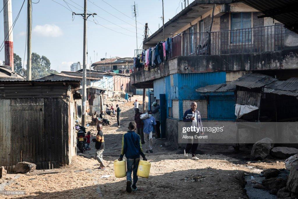 Kenyans Deal With The Coronavirus Pandemic : News Photo