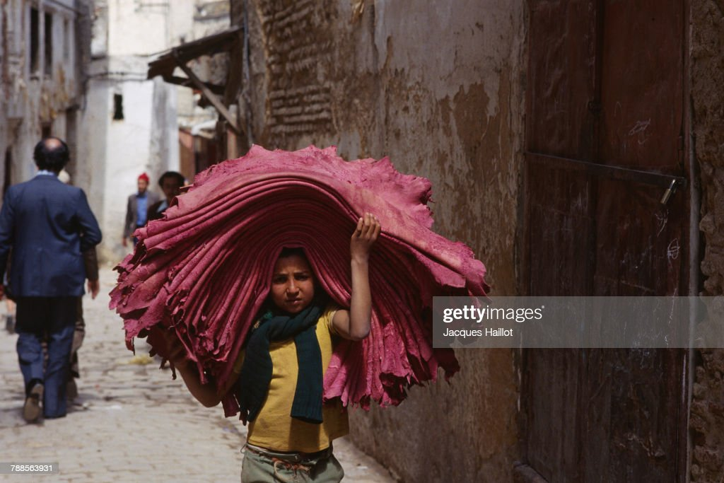 Tannery Workers : News Photo