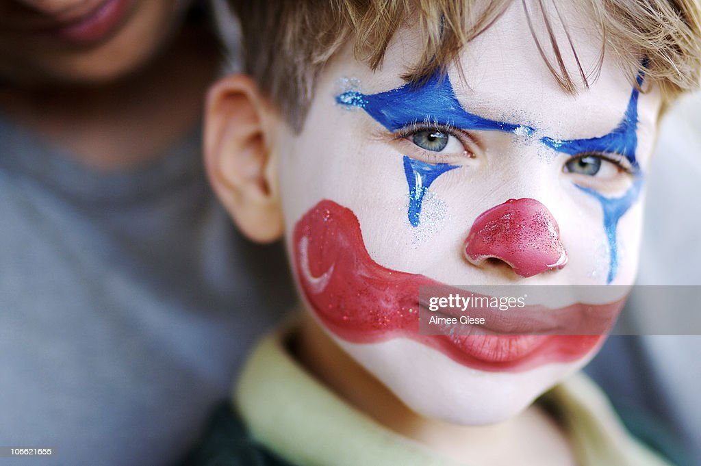 Clown Face Stock Photos, Pictures & Royalty-Free Images