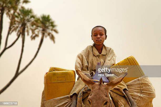 CONTENT] A young boy getting fresh water A village close to Katsina and the border of Niger Repubic March 30 2010