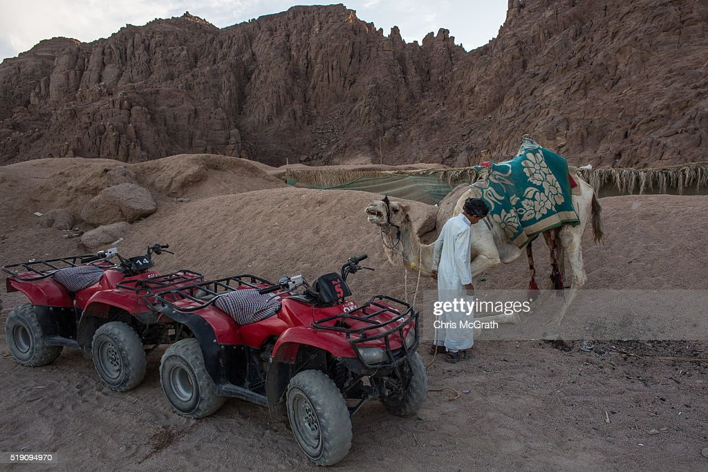 Tourism Hit Hard In Egyptian Resorts After Recent Security Threats : News Photo