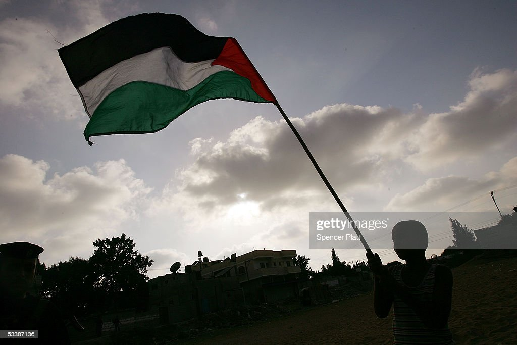 Palestinian Security Forces Deploy Throughout Gaza Prior To Disengagement : News Photo