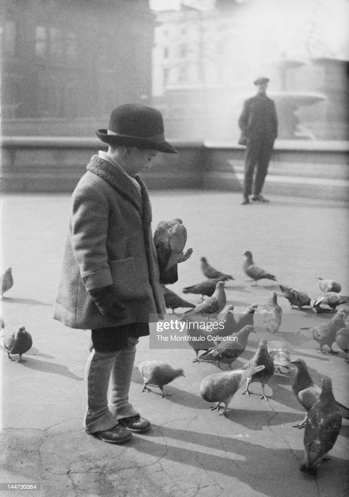 Trafalgar Square England : News Photo
