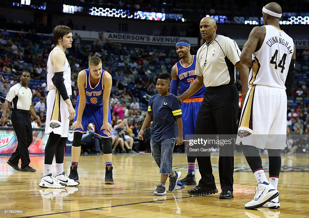 New York Knicks v New Orleans Pelicans