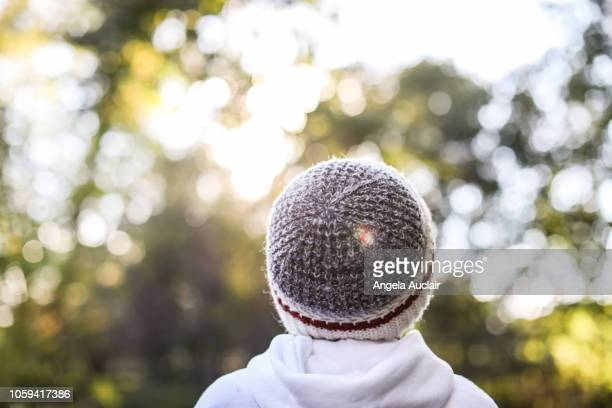 Young Boy Looking Away