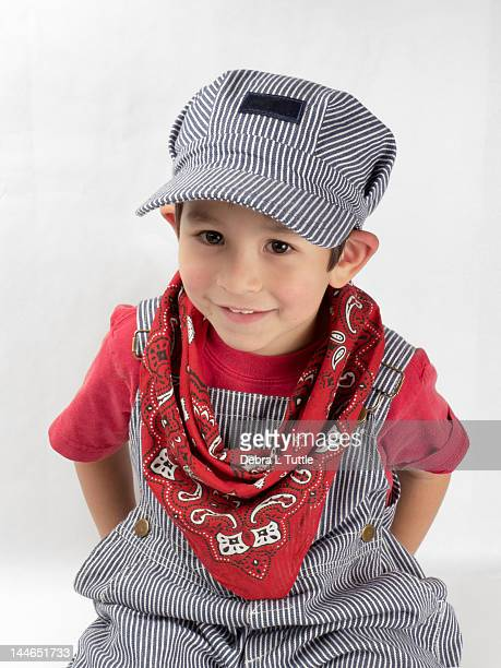young boy - kids costume engineer stock photos and pictures