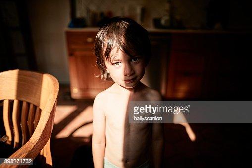 Young Boy, Portrait