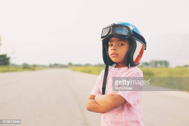 Young Boy Racer