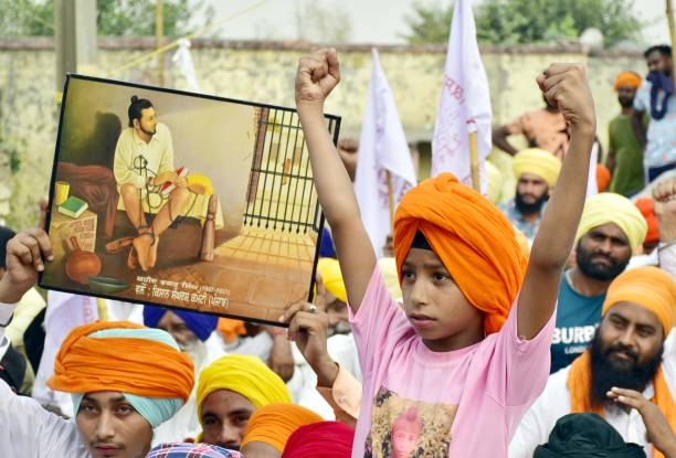 IND: Farmers In Punjab Protest Against Recently Passed Farm Bills