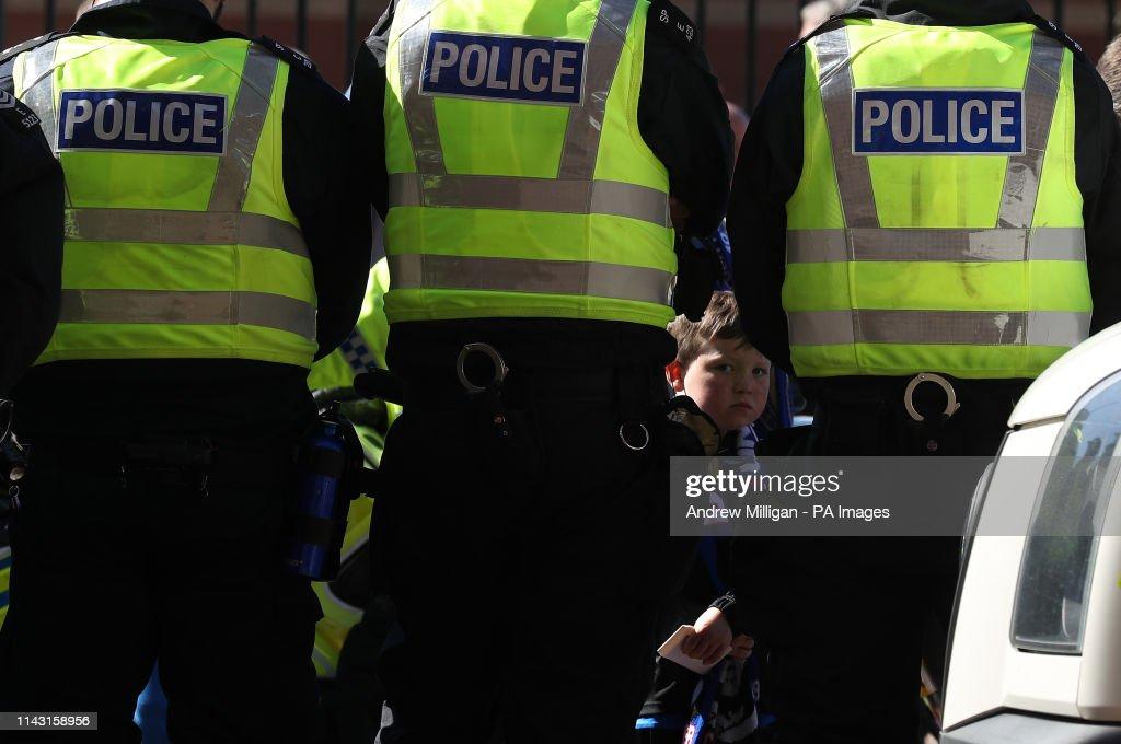 Rangers v Celtic - Ladbrokes Scottish Premiership - Ibrox Stadium : News Photo