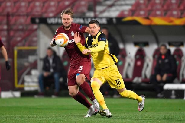 ROU: CFR Cluj v BSC Young Boys: Group A - UEFA Europa League
