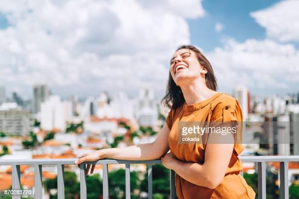 Young Brazilian woman portrait