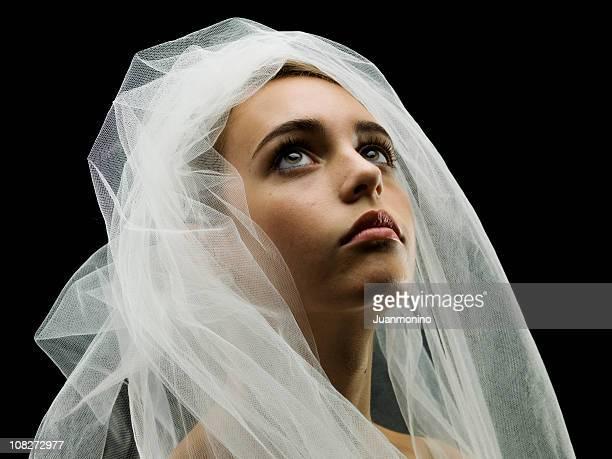 jeune mariée - une seule adolescente photos et images de collection