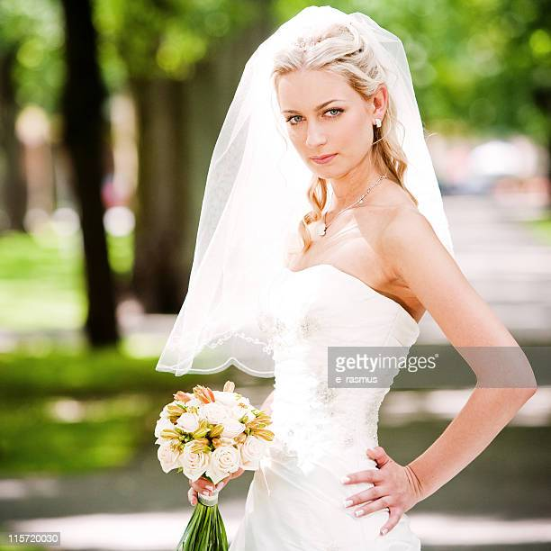 young bride - off shoulder stock pictures, royalty-free photos & images