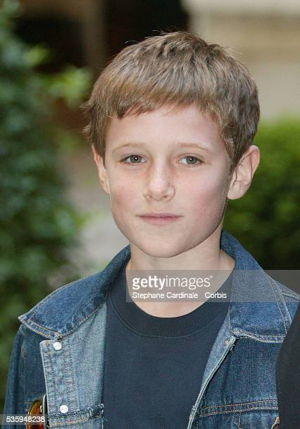 Young British actor Barney Clark poses during a photocall for Roman Polanski's movie Oliver Twist based on the Charles Dickens story