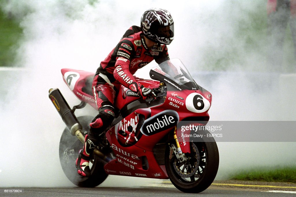 Motor Racing - British Superbike Championship - Donington Park : News Photo