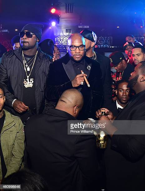 Young Buck and Young Jeezy attend Compound on December 31 2014 in Atlanta Georgia